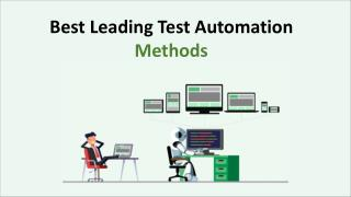Best Leading Test Automation Methods