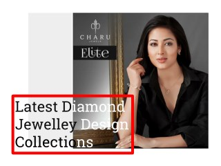 Latest Diamond Jewellery Design Collection