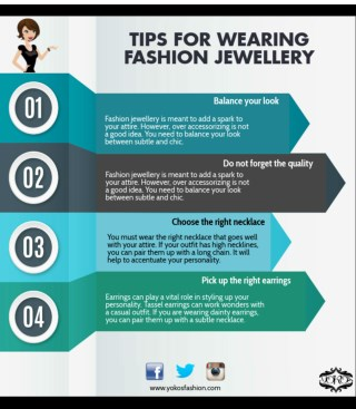 Tips for Wearing Fashion Jewellery