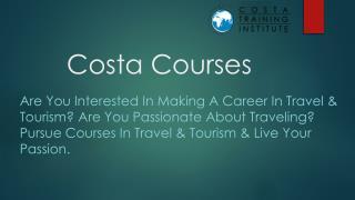 Diploma in Tour Operations in navi mumbai, Diploma in International Travel and Tourism, aviation courses in navi mumbai.