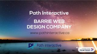 Get Barrie Web Design Services at Affordable Rates