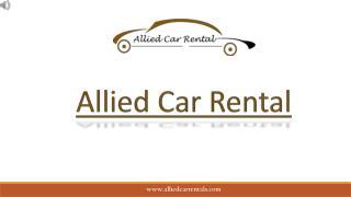 Pune to Mumbai Airport Pick up & Drop service - Allied Car Rental