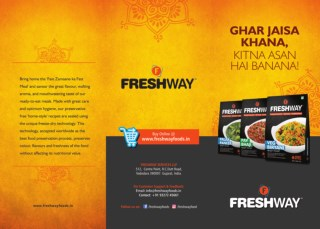 Freshway foods ready to eat food products