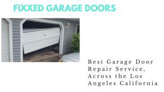 Garage Door Opener Install in Los Angeles