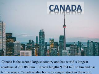 Canada Tourist Visa, Documents and Places to Visit by Sanctum Consulting