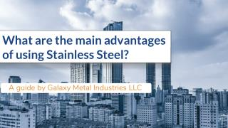 Stainless Steel Fences And Gates | Galaxy Metal Industries LLC