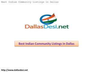 Best Indian Community Listings in Dallas