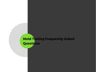Mold Testing Frequently Asked Questions