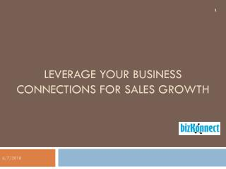 Special offer to grow your sales - BizKonnect