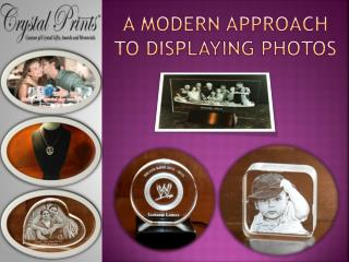 A Modern Approach to Displaying Photos