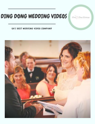 Get Best Wedding Videography In London