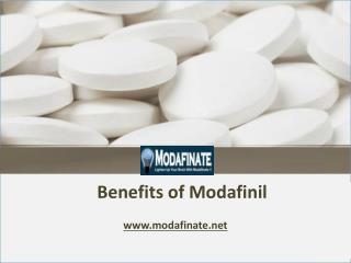 Benefits of Modafinil