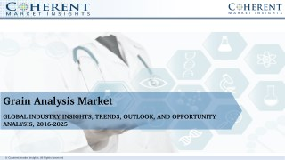 Grain Analysis Market - Global Industry Insights, Trends, Outlook, and Opportunity Analysis, 2017-2025