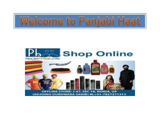 Punjabi and Sikh Accessories Store Online India