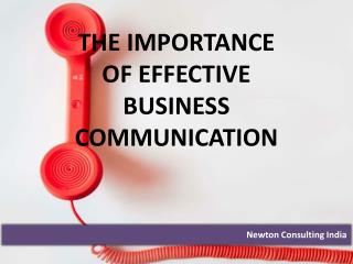 The Importance of Effective Business Communication
