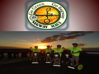 Kids Pay Half the Price Discovering Maui on Segway PT! Bumper Offer from Segway Maui