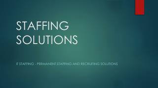 Permanent Staffing Services and Recruiting Solutions by Ampcus
