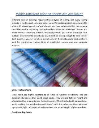 Which-Different-Roofing-Sheets-Are-Available