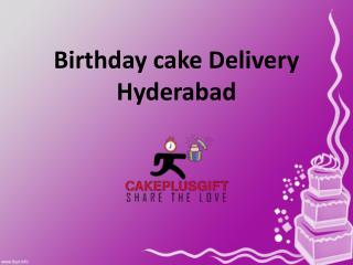 Birthday cake Delivery in Hyderabad,Order Birthday Cakes Hyderabad - Cakeplusgift