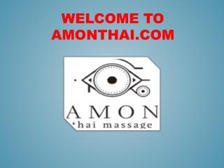 THAI MASSAGE in Madrid   Traditional Massage Therapy