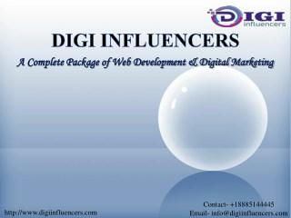Portfolio of Top Web Design Company NJ| Digi Influencers