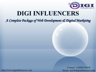 Digi Influencers | Mobile App Designer in New Jersey