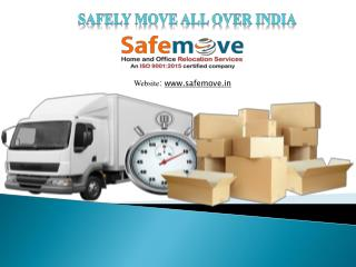 Safely Move all over India.