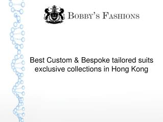 Custom Bespoke Suit Tailor Hong Kong | custom tailors in Hong Kong
