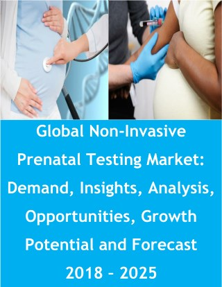 Global Non-Invasive Prenatal Testing Market: Demand, Insights, Analysis, Opportunities, Growth Potential and Forecast 20