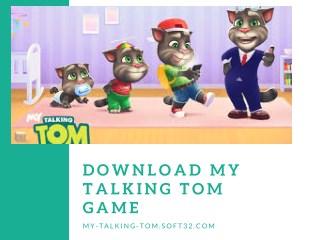 Download my talking tom game