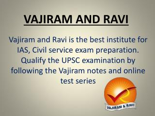 Current Affairs Material - Vajiram and ravi