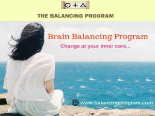Get Brain Balancing Program | Consult balancingprogram