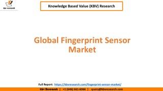 Global Fingerprint Sensor Market Size and Market Share