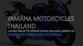 Yamaha Motorcycles in Thailand