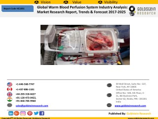 Warm Blood Perfusion System Market Outlook 2017-2025