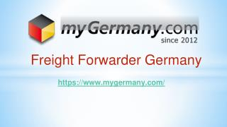Freight Forwarder Germany