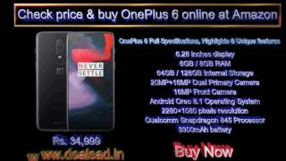 Why you should buy a Oneplus 6 Smartphone Online