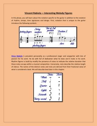 Vince Rabiola—Interesting Melody Figures