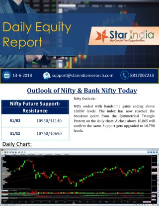Daily Equity Report- 13 JUNE