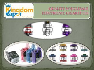 Quality Wholesale Electronic Cigarettes