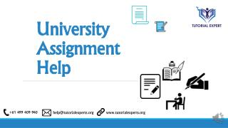 Online University Assignment help