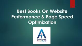 Best books on website performance & Page Speed Optimization