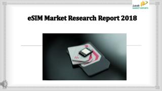 eSIM Market Research Report 2018