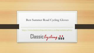 Best Summer Road Cycling Gloves