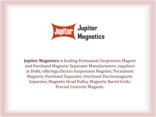 Permanent Suspension Magnets Manufacturers