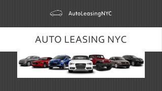 Auto Leasing NYC