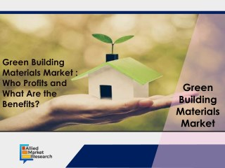 Green Building Materials Market of the 20th Century