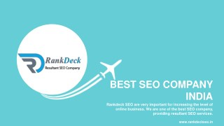 Internet Marketing Company Rankdeck SEO