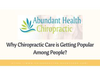 Chiropractic Family Care