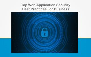 Top Web Application Security Best Practices for Business